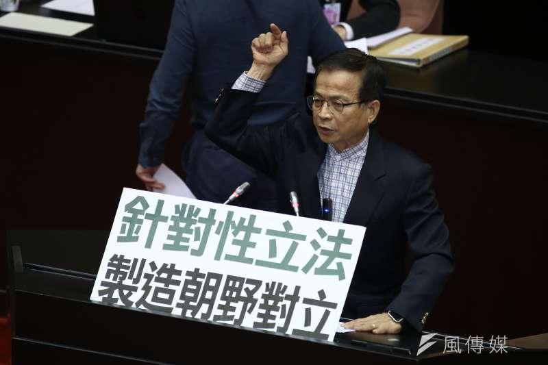 20190507-立法院院會,國民黨立委賴士葆。(陳品佑攝)