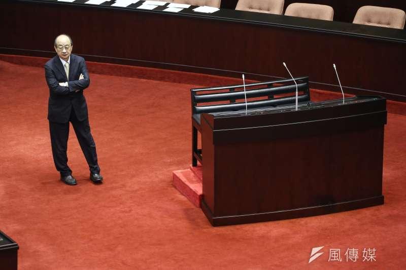 20190507-立法院院會,民進黨黨團總召柯建銘。(陳品佑攝)