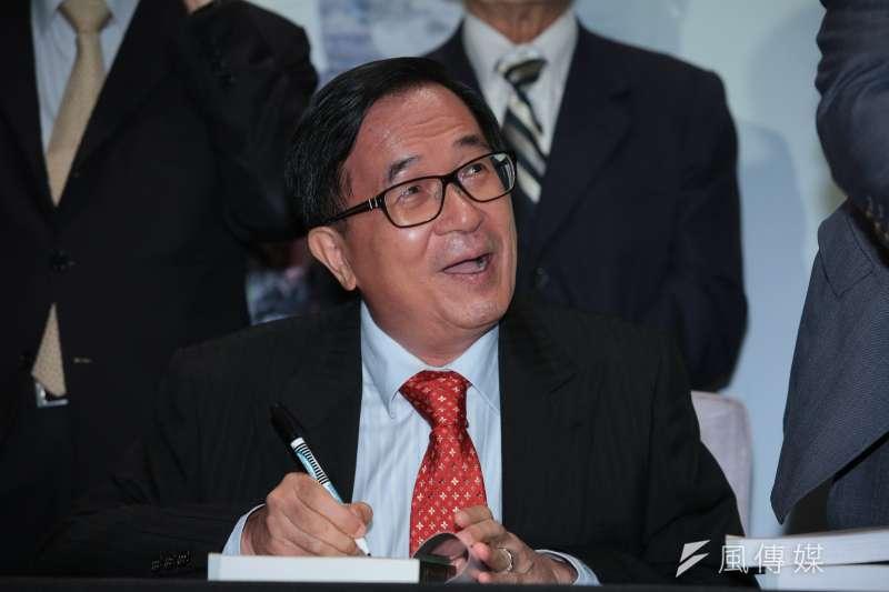 前總統陳水扁(圖)曾於5月9日出席簽書會,近日又宣布要加辦6場。(資料照,顏麟宇攝)