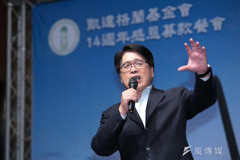 台灣民意基金會董事長游盈隆表示,這次初選首次納入手機民調,本就容易造成爭端,「想杜絕天下悠悠之口,恐怕比登天還難!」(資料照,顏麟宇攝)