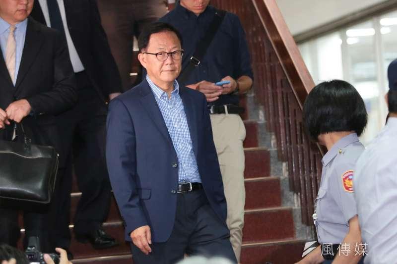 前立法委員丁守中日前針對台北市長選舉結果提出當選無效之訴,台灣台北地方法院10日判「原告之訴駁回」,全案仍可上訴。(顏麟宇攝)