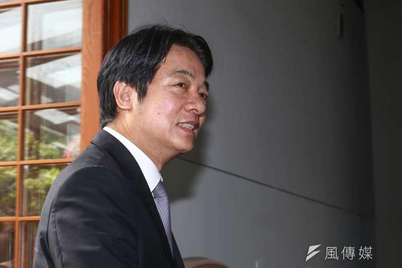 20190513-前行政院長賴清德13日召開訪日成果記者會。(蔡親傑攝)