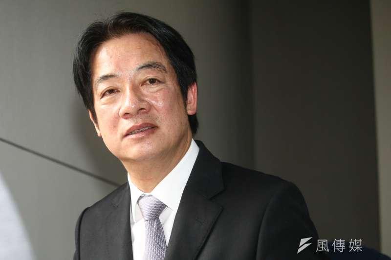 前行政院長賴清德(見圖)表示,從民調可見他已領先總統蔡英文、高雄市長韓國瑜,若能獲民進黨提名,絕對有把握在明年總統大選贏得勝利。(資料照,蔡親傑攝)