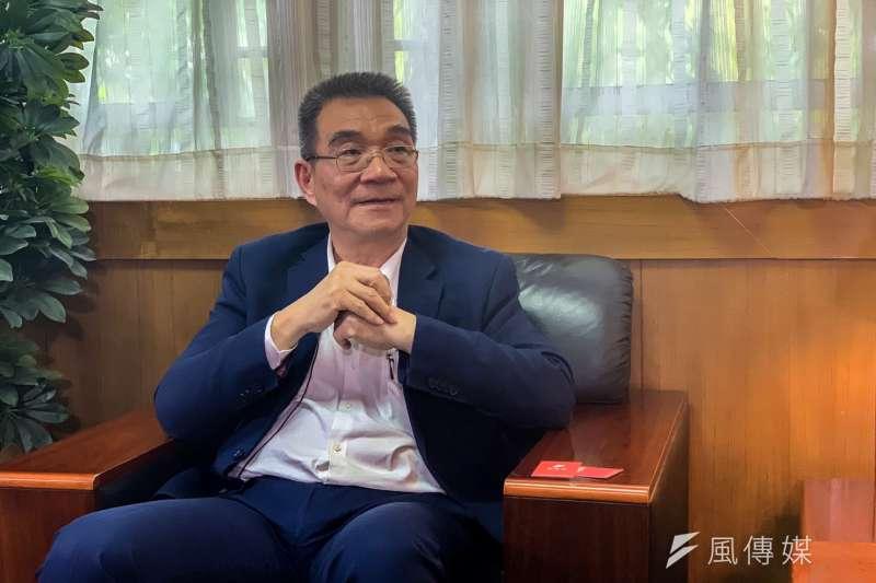 林毅夫對開發中國家由華盛頓共識轉到北京共識有重要的影響。(呂紹煒攝)