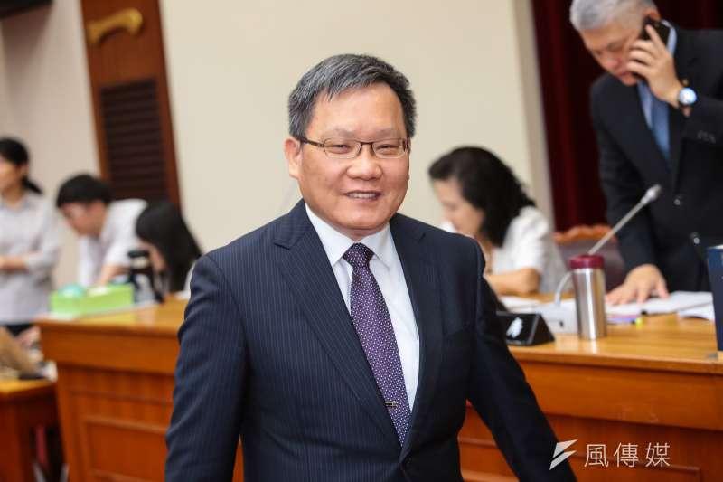20190515-財政部長蘇建榮15日出席立院財政委員會。(顏麟宇攝)