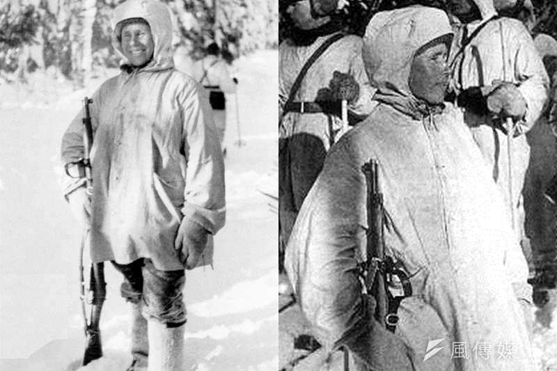 他的狙擊技術,連蘇聯人都稱他「白色死神」。(圖/維基百科)