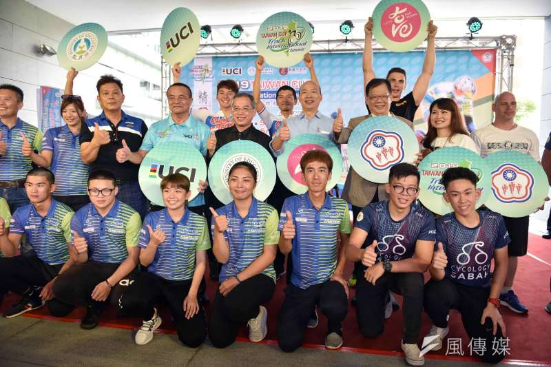 「2019臺灣盃國際自由車場地經典賽」將於5月18日至20日在高雄楠梓自由車場登場。(圖/徐炳文攝)