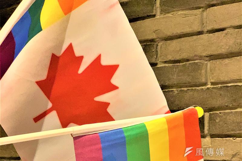 加拿大是首個同婚合法化的北美國家(簡恒宇攝)