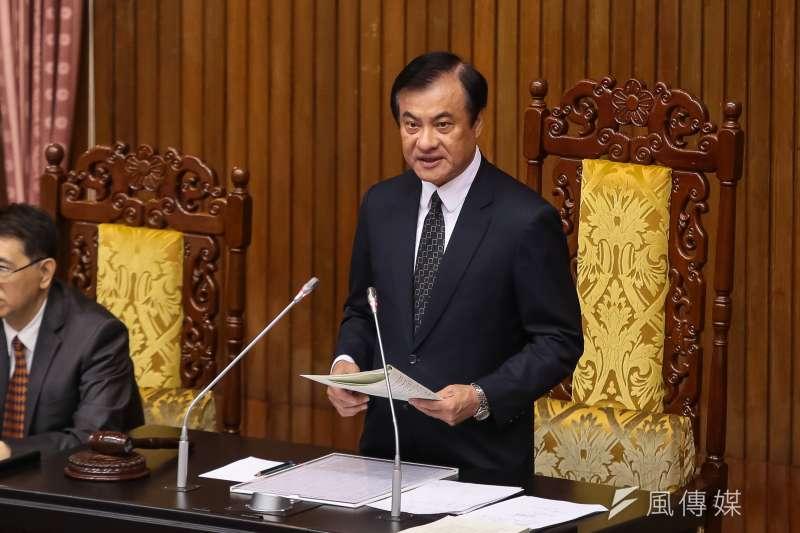 20190517-立法院長蘇嘉全17日主持院會。(顏麟宇攝)