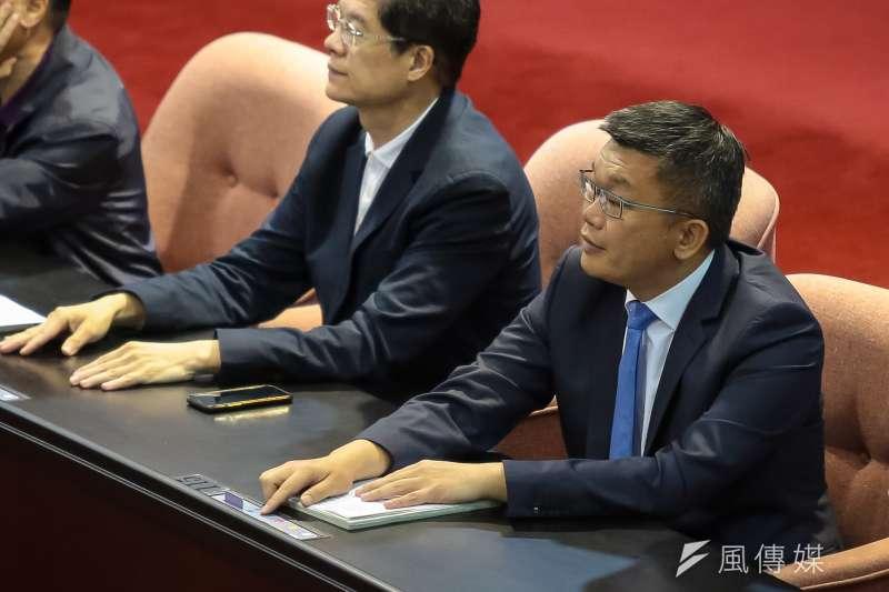 20190517-立法院副院長蔡其昌17日出席院會投票。(顏麟宇攝)