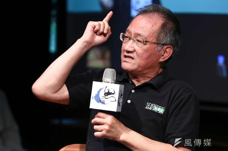 20190518-龍應台基金會邀請「科學人」總編輯李家維發表演講「孤獨世紀的來臨」。(蔡親傑攝)