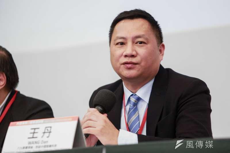 中國民運人士王丹。(資料照,簡必丞攝)