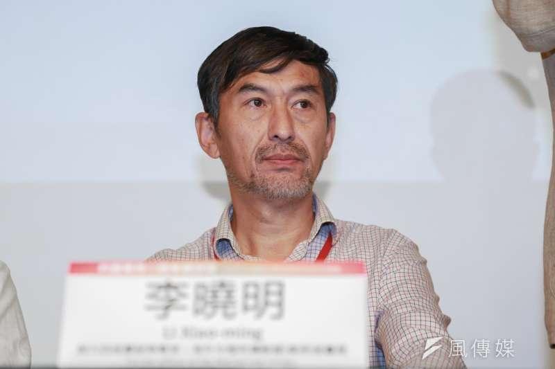 前六四戒嚴部隊軍官李曉明5月18日出席六四事件30週年研討會。(簡必丞攝)