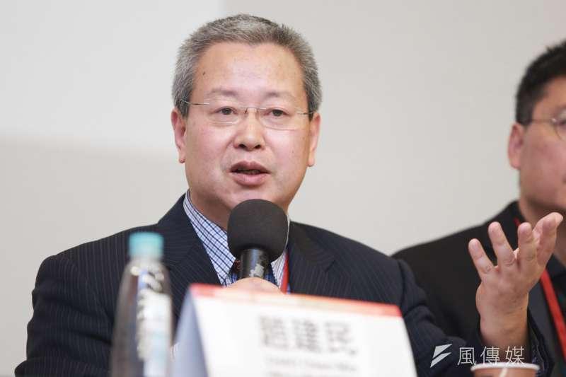 20190519-前北京大學經濟學院教授夏業良19日出席六四30週年研討會。(簡必丞攝)