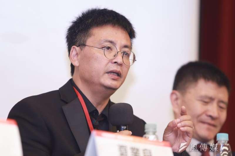20190519-八九學運領袖封從德19日出席六四30週年研討會。(簡必丞攝)