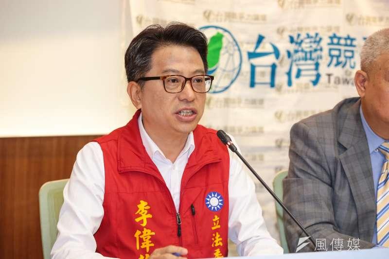宜蘭縣藍天志工團團長李偉華接任國民黨宜蘭縣黨部書記長。(顏麟宇攝)
