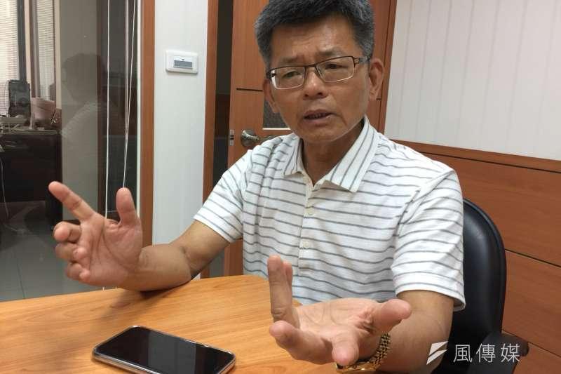 前高雄市長楊秋興(見圖)12日在臉書貼文砲轟,國民黨2020大選,一盤好棋被高雄市長韓國瑜的私心毀了。(資料照,徐炳文攝)