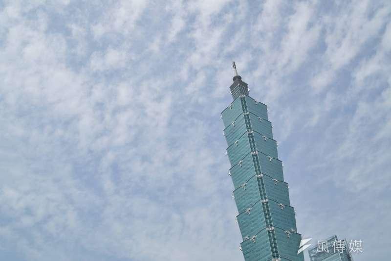 根據訂房網站統計,韓國旅客中秋連假的旅遊首選是台北。圖為台北101大樓。(資料照,盧逸峰攝)