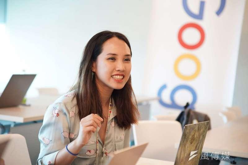 20190521-Google同志員工議題專訪,資深公關總監 Lan受訪。(盧逸峰攝)