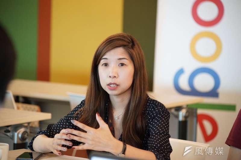 20190521-Google同志員工議題專訪,行政專員Jill受訪。(盧逸峰攝)