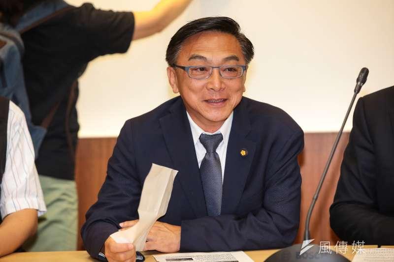 曾任高雄市長韓國瑜競選發言人的立委陳宜民,於6日在政論節目中爆料,韓國瑜在選後並未向他表達感謝。(資料照,顏麟宇攝)