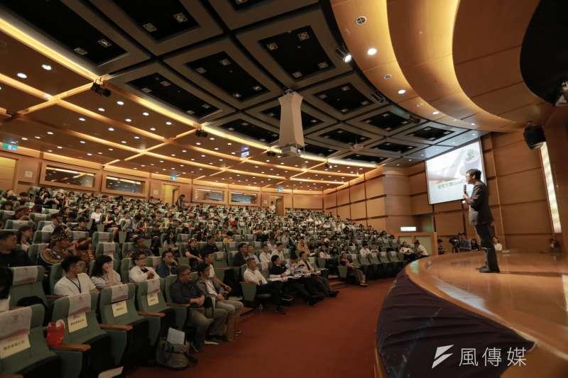 「第四屆京台青年創新創業大賽」在各方努力下正式登場,總計評選出30組優勝隊伍可前往北京進行同場競技,爭取榮耀。 (圖/徐炳文攝)