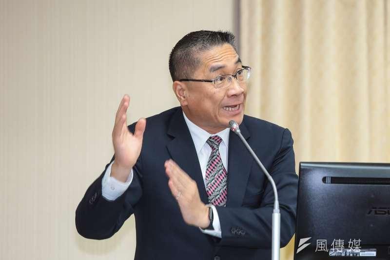 20190523-內政部長徐國勇23日於立院內政委員會備詢。(顏麟宇攝)