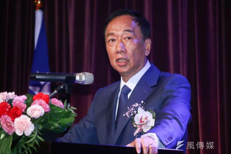 國民黨總統初選參選人、鴻海董事長郭台銘。(資料照,蔡親傑攝)