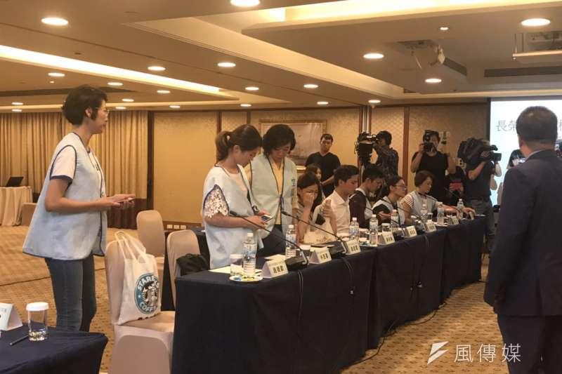 2019年5月24日,長榮航空勞資雙方重啟協商(廖羿雯攝)
