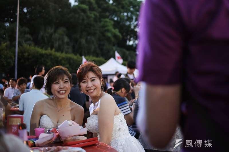 20190525-「2019 凱道同婚宴:十年修得同婚宴,不忘初心爭平權」 活動。(陳品佑攝)