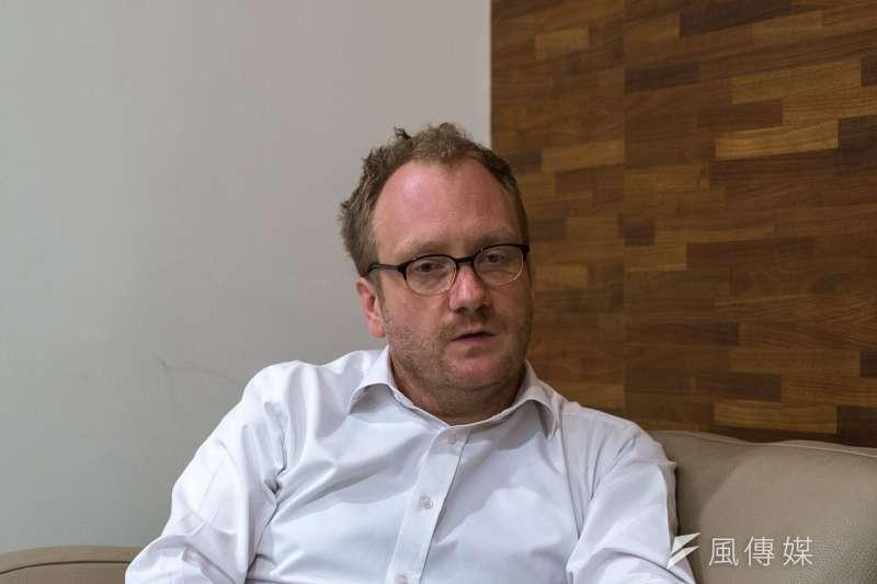20190526-龍應台文化基金會邀請貝斯圖(Stuart Gietel-Basten)教授探討少子話問題。(魏嘉瑀攝)