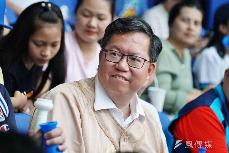 桃園市長鄭文燦(見圖)說,「歡迎林飛帆一起為台灣民主打拚,把學運理想在現實政治中實踐 。」(資料照,盧逸峰攝)