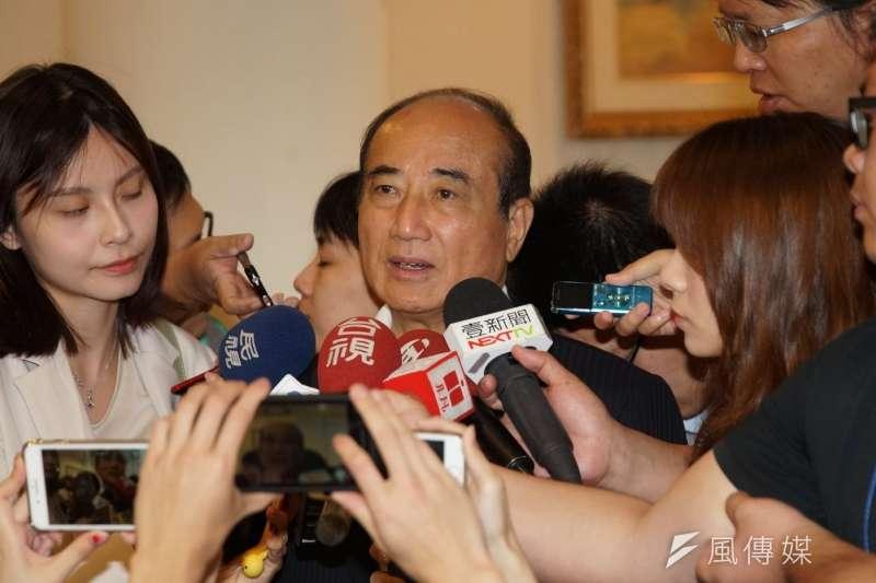 20190526-王金平出席「捍衛五權憲法:捍衛人民的考試權」論壇。( 盧逸峰攝)