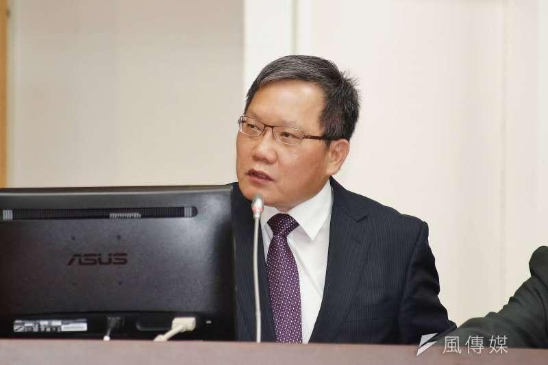 20190527-財政部長蘇建榮出席財政委員會備詢。(盧逸峰攝)