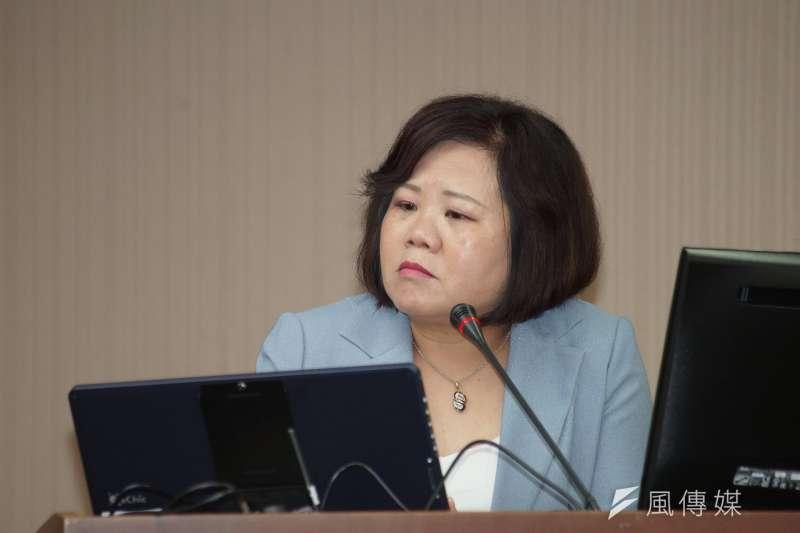 20190527-勞動部長許銘春出席衛環委員會。(盧逸峰攝)