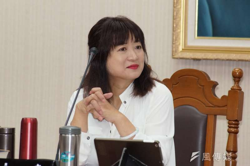 20190527-立委蔡培慧出席教育文化委員會。(盧逸峰攝)