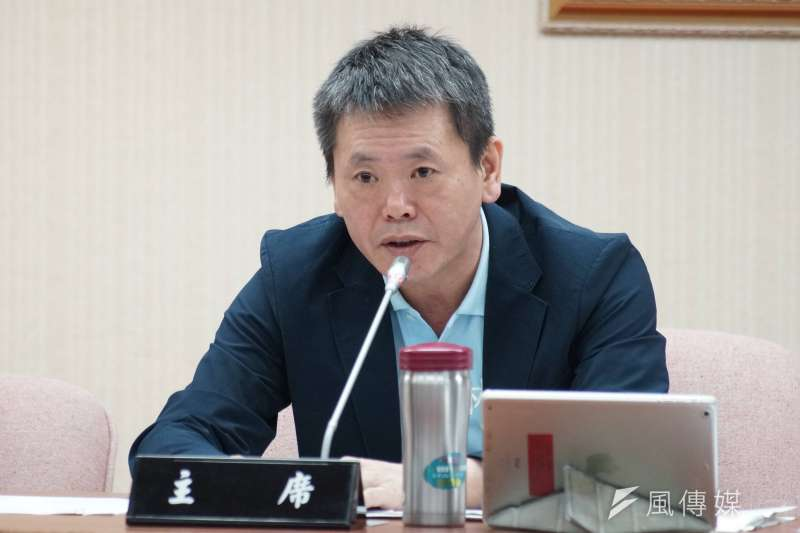 20190527-立委林為洲出席內政委員會。(盧逸峰攝)