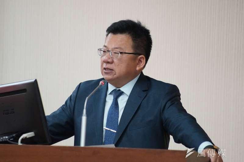民進黨團書記長李俊俋(見圖)指出,拓展來台旅客多元化,才能避免單一來源國有嚴重波動時,影響台灣的觀光產業。(盧逸峰攝)
