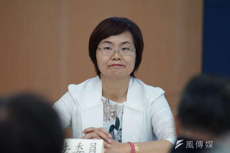20190527-立委陳素月出席「立即連署,支持行政院版《工廠管理輔導法》記者會」。(盧逸峰攝)