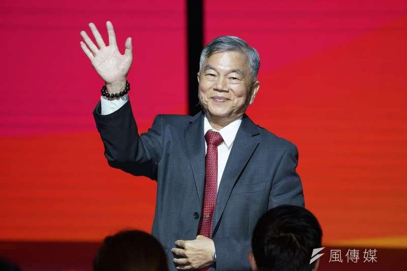 20190528-經濟部長沈榮津出席「2019台北國際電腦展」 開幕典禮。(盧逸峰攝)