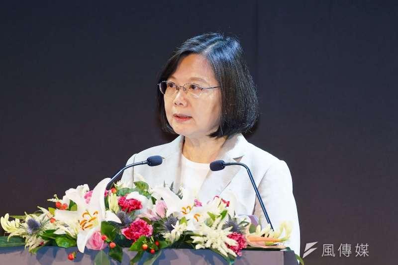 20190528-總統蔡英文出席「2019台北國際電腦展」 開幕典禮。(盧逸峰攝)