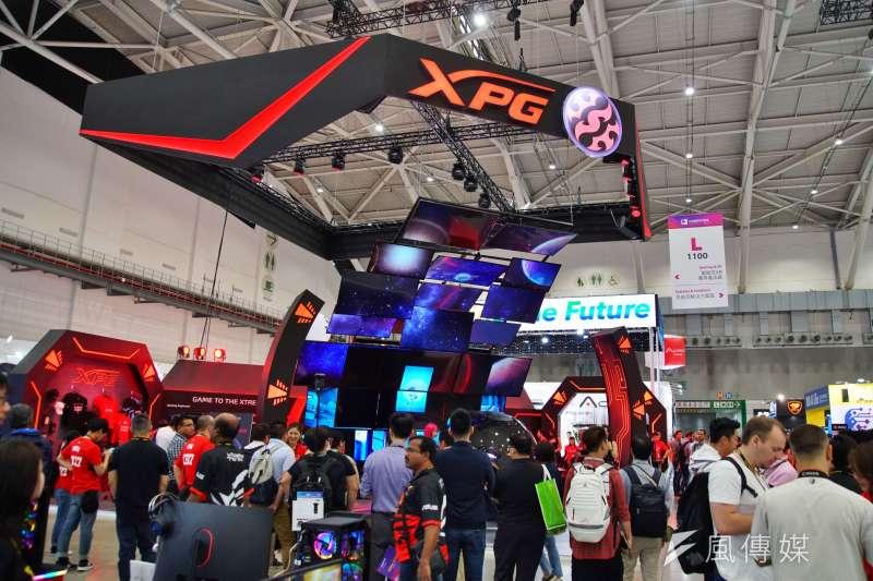 去年台灣經濟成長率超越中國,圖為台北國際電腦展。(資料照片,盧逸峰攝)
