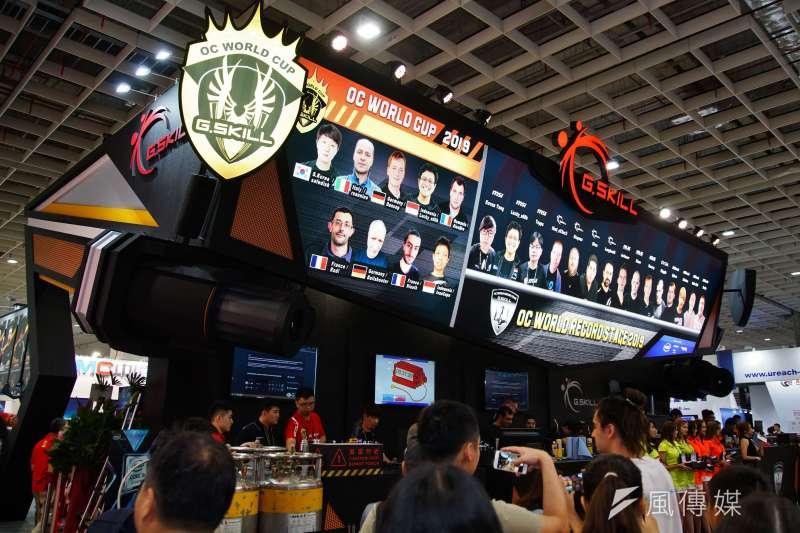 20190528-2019台北國際電腦展,電競相關廠商。(盧逸峰攝)