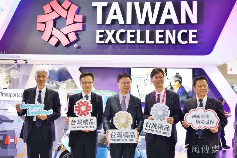 20190528-2019台北國際電腦展,台灣展覽專區。(盧逸峰攝)