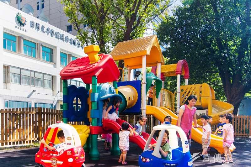 台灣半導體業第一所企業幼兒園,讓員工安心工作,托育無後顧之憂。(圖/日月光提供)
