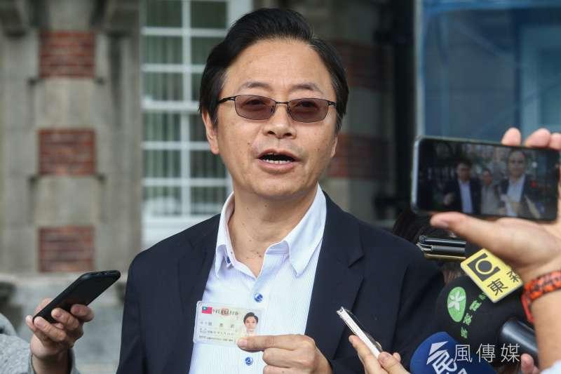 前行政院院長張善政臉書貼文批行政院刻意修理韓國瑜、不惜提出假消息。(資料照片,蔡親傑攝)