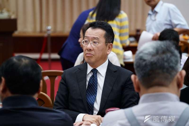 20190530-金管會主委顧立雄出席財政委員會。(盧逸峰攝)
