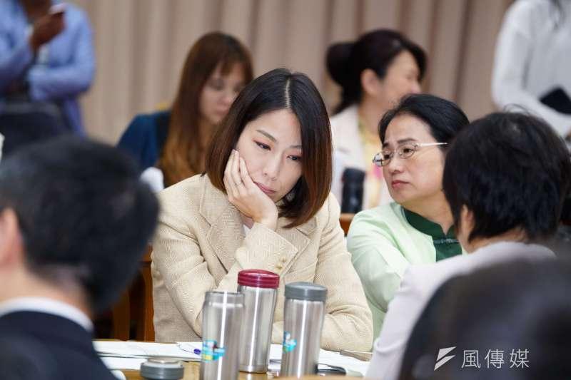 20190530-立委余宛如昌出席財政委員會。(盧逸峰攝)