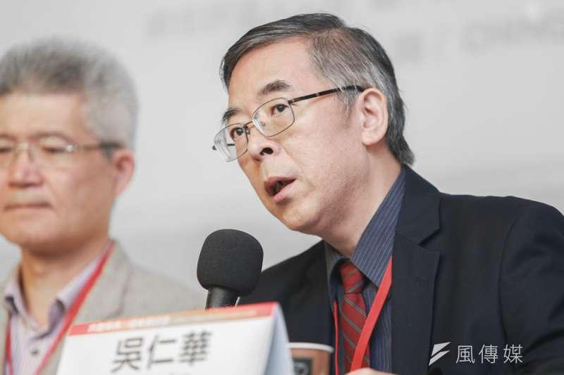 吳仁華被認為是六四史實的權威研究者。(簡必丞攝)