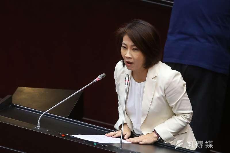 20190531-民進黨立委周春米31日針對刑法修正條文草案進行廣泛討論。(顏麟宇攝)